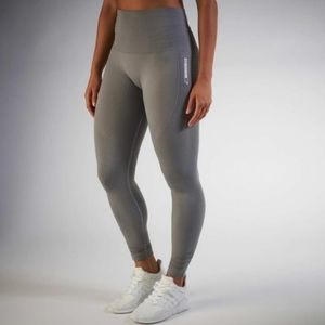 Gymshark grey seamless leggings